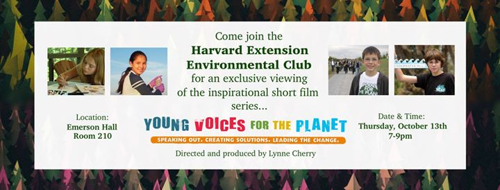 Harvard Extension Student Environmental Club cover