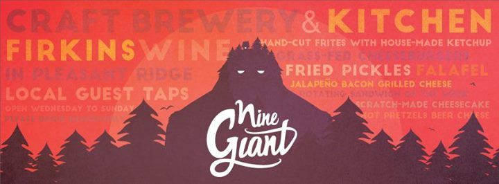 Nine Giant Brewing cover