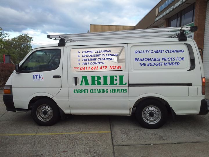 Ariel Carpet Cleaning Services cover