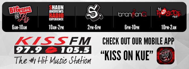 97.9/105.5 Kiss-Fm cover