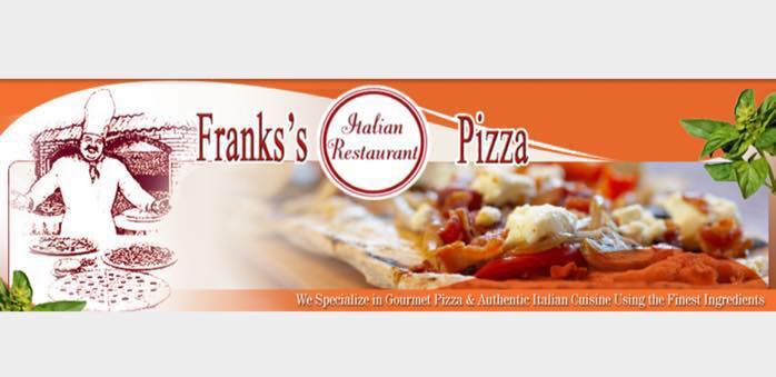 FRANKS PIZZA - WARMINSTER AND LANSDALE PA cover