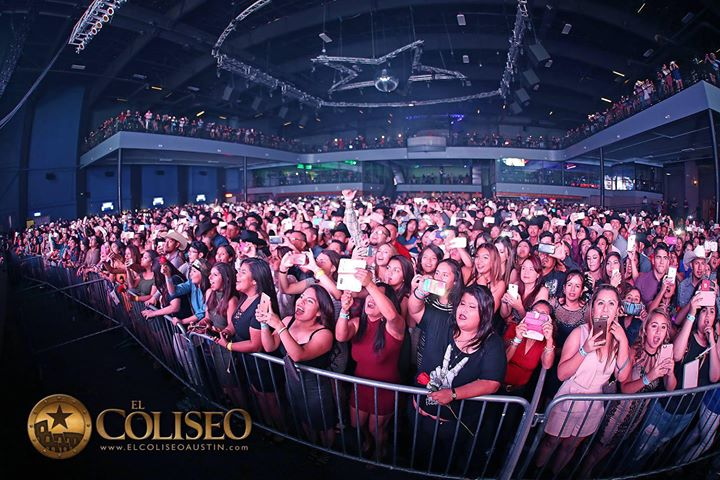 Coliseo Austin cover
