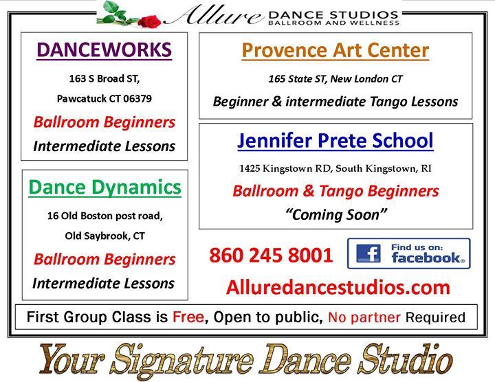 Allure Dance Studios Ballroom & Wellness cover