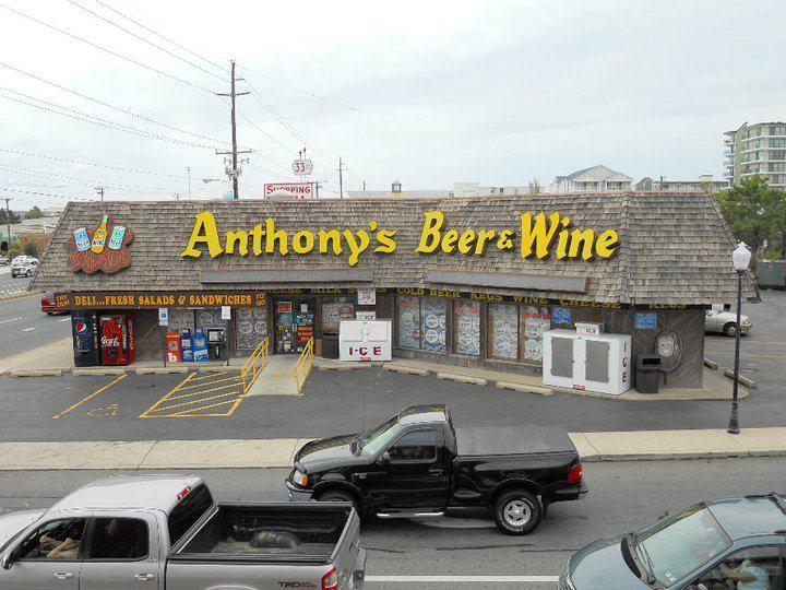 Anthony's Liquors cover