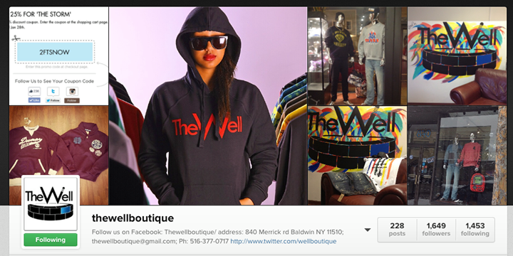 The Well Boutique cover
