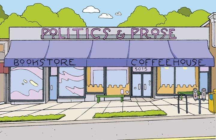 Politics and Prose Bookstore cover