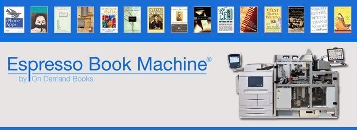Espresso Book Machine cover