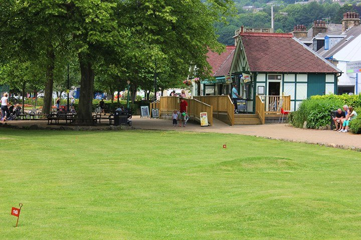 Cafe in the Park, Matlock cover