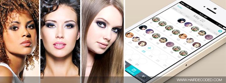 Hair Decoded Calendar Mobile App cover