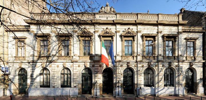 Istituto Italiano di Cultura Budapest cover