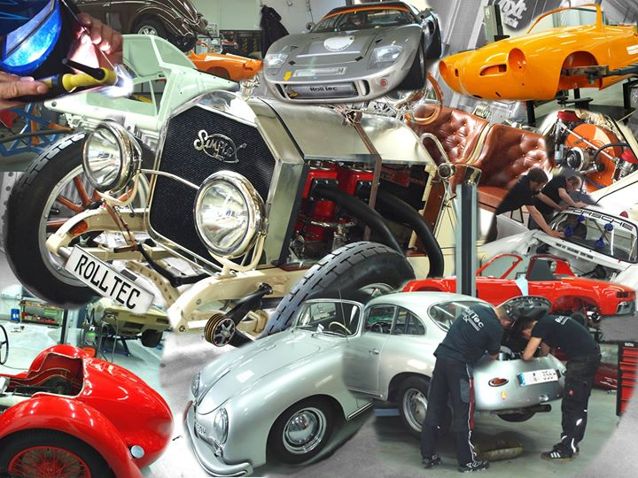 RollTec Engineering Classic Cars & Motorsports cover