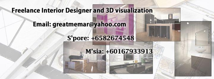Freelance Interior Designer And Architecture Cover