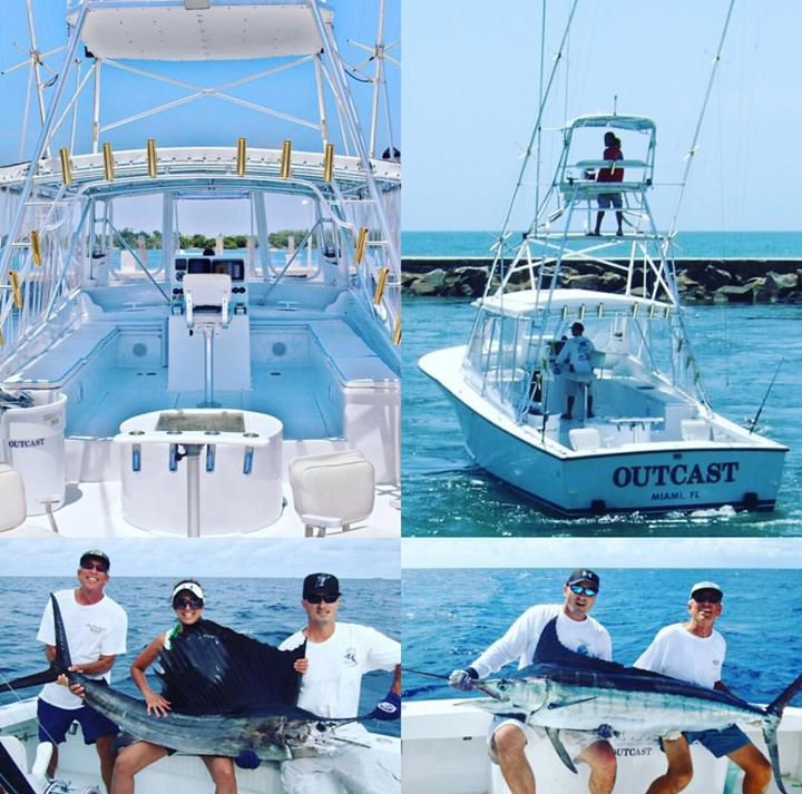 Outcast Charter Fishing cover