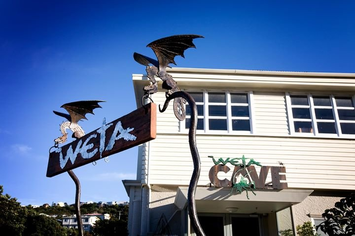 The Weta Cave cover