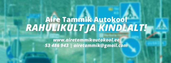 Aire Tammik Autokool cover