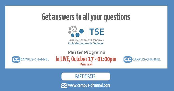 Toulouse School of Economics - TSE cover