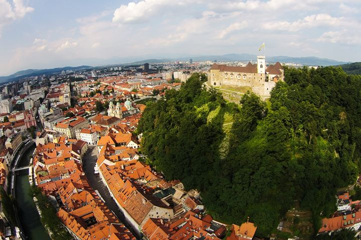Ljubljanski grad / Ljubljana Castle cover