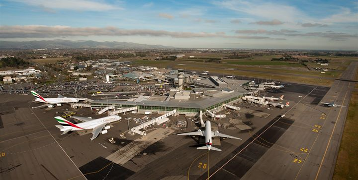 Christchurch Airport cover