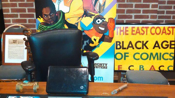 East Coast Black Age of Comics Convention (ECBACC) cover