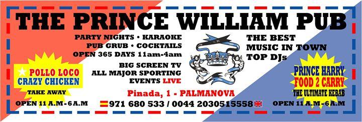 The Prince William Pub cover