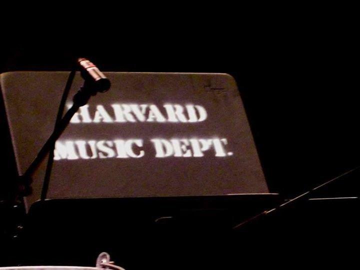 Harvard Music Department cover