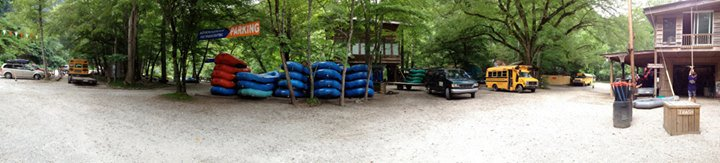Nantahala Rafting with Adventurous Fast Rivers cover