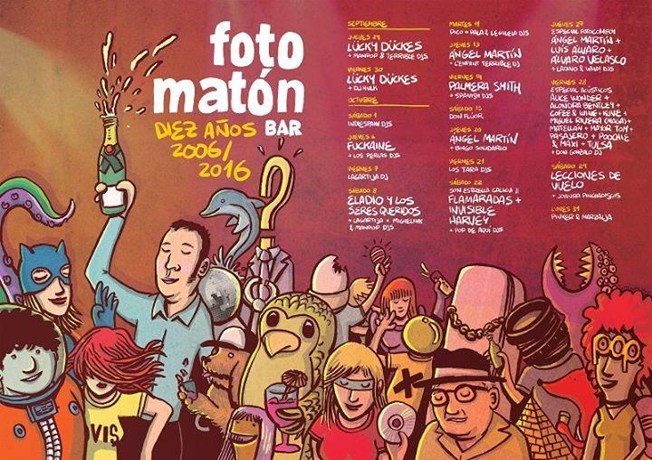 Fotomatón bar- sala de conciertos cover