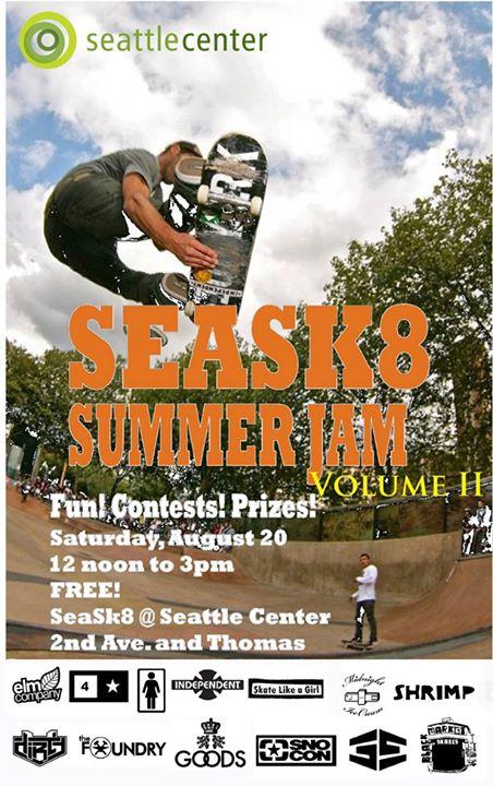 SeaSk8 - Seattle Center Skatepark cover