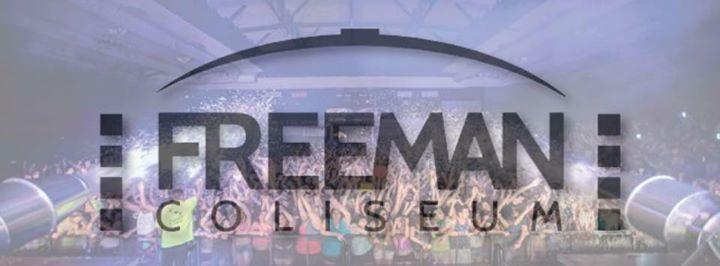 Freeman Coliseum cover