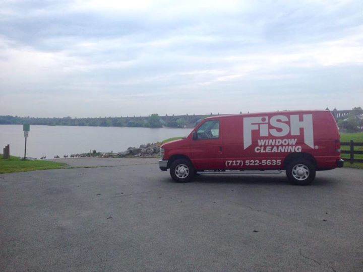 Fish Window Cleaning cover