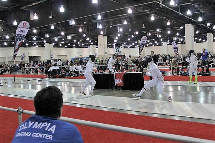 Olympia Fencing Center cover