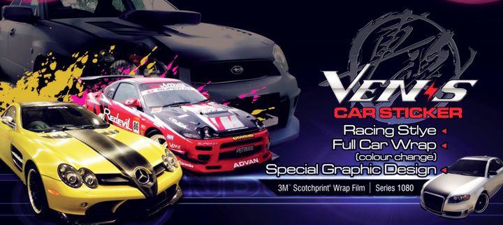 VENIS Sticker Design cover