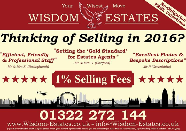 Wisdom Estates Dartford - Independent Estate Agents cover