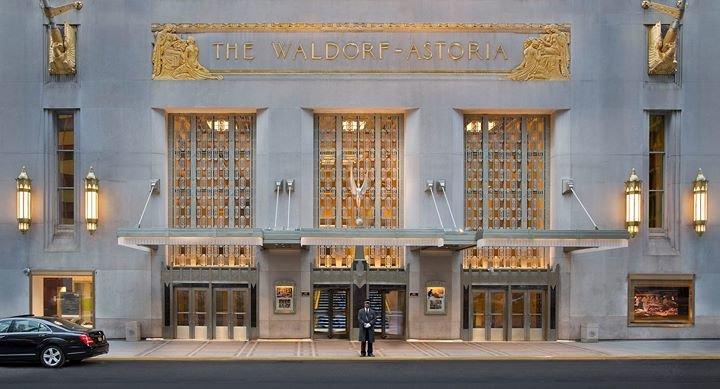 Waldorf Astoria New York cover