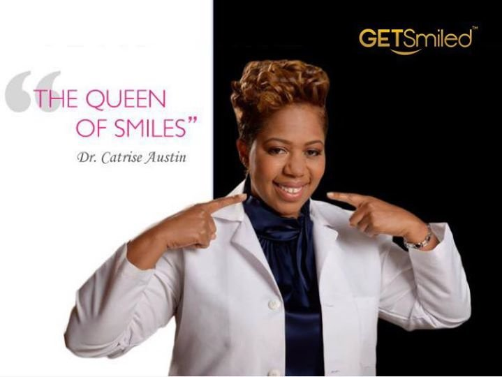 Dr. Catrise Austin- The Queen Of Smiles cover