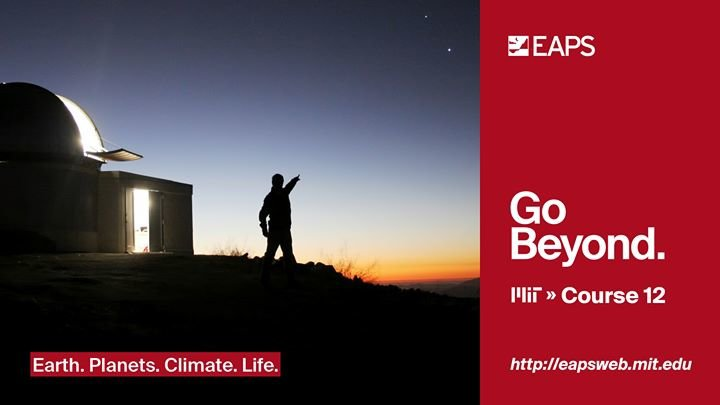 MIT Department of Earth, Atmospheric and Planetary Sciences cover