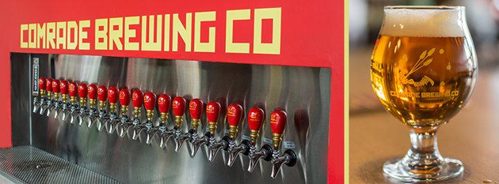 Comrade Brewing Company cover