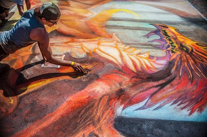 Denver Chalk Art Festival cover