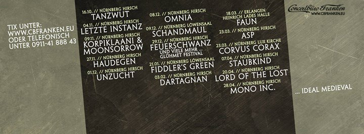 Concertbüro Franken cover
