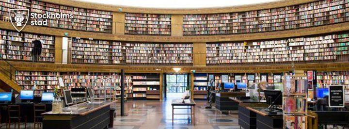 Stadsbiblioteket Stockholm cover