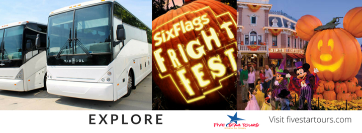 Five Star Tour and Charter Bus Company cover