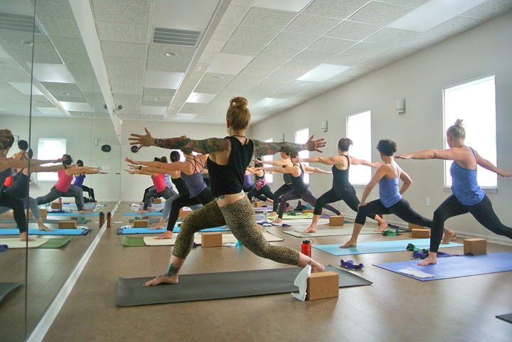 Synergy Hot Yoga cover