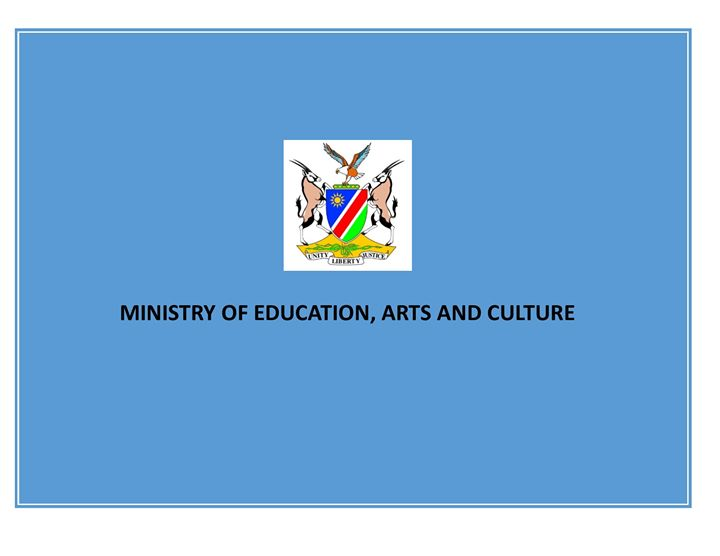 Ministry of Education, Arts and Culture cover