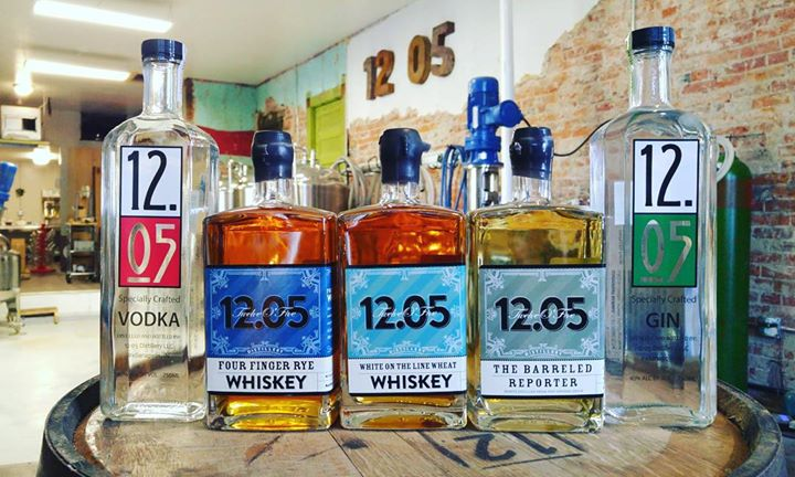 1205 Distillery cover