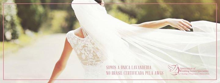 Lavecia especialista em lavagem de vestidos de noiva cover