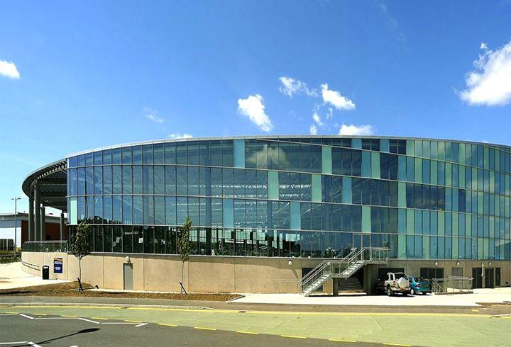 Cardiff International Pool cover