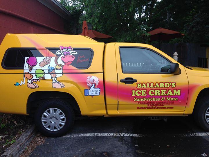 Ballard's Ice Cream cover