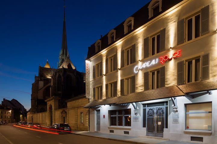 Hostellerie du Chapeau Rouge, Restaurant William Frachot cover