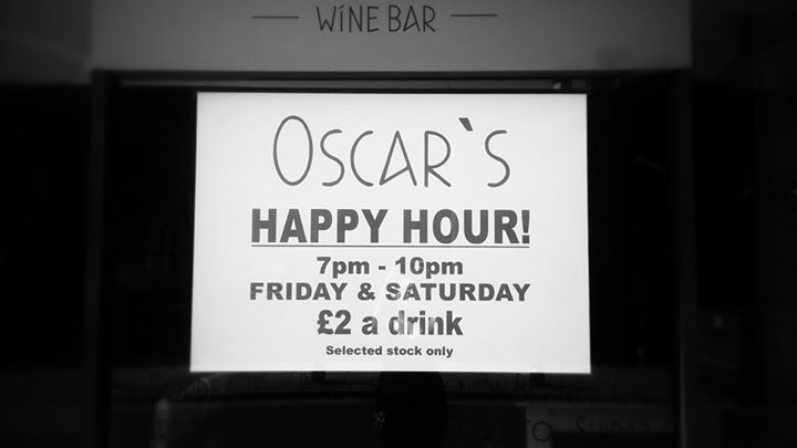 Oscar's Wine Bar cover