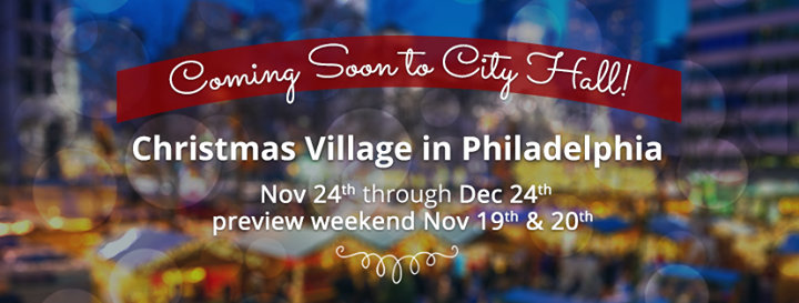Christmas Village in Philadelphia cover